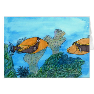 Winning artwork by C. Kaaikaula, Grade 8 Greeting Card