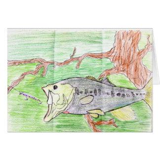 Winning artwork by C. Spencer, Grade 7 Greeting Card