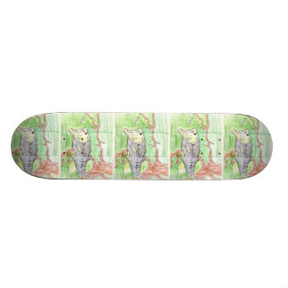 Winning artwork by C. Spencer, Grade 7 Skate Decks