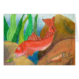 Winning artwork by D. Gutierrez, Grade 8 Greeting Card