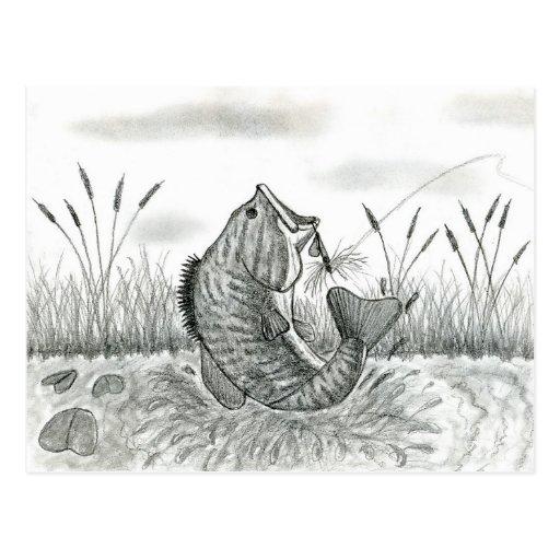 Winning artwork by D. Weaver, Grade 8 Postcards
