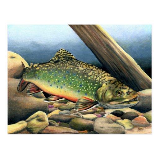 Winning artwork by E. Argot, Grade 11 Post Cards