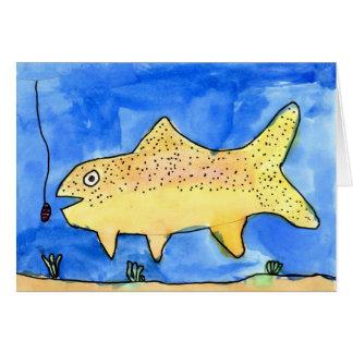 Winning artwork by E. Gardner, Grade 4 Greeting Card