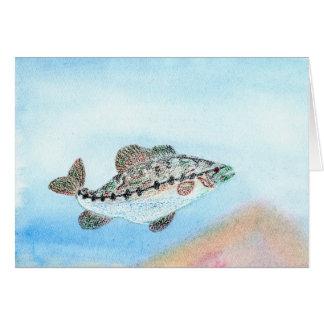 Winning artwork by E. Saliga, Grade 5 Greeting Card
