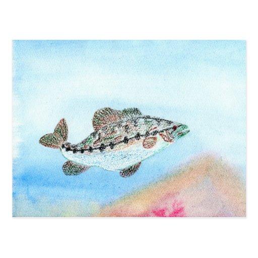 Winning artwork by E. Saliga, Grade 5 Post Cards