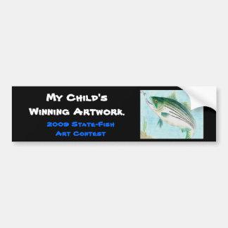 Winning artwork by E. Vance, Grade 8 Bumper Sticker