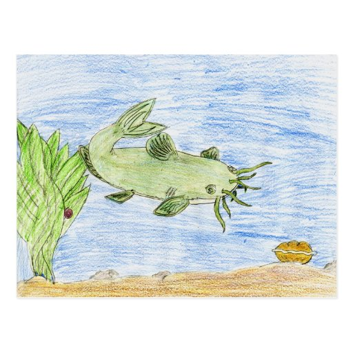 Winning artwork by G. Wittenburg, Grade 6 Post Cards