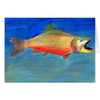 Winning artwork by J. Coady, Grade 9 Greeting Card
