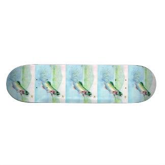 Winning artwork by J Davis Grade 10 Skateboard Deck