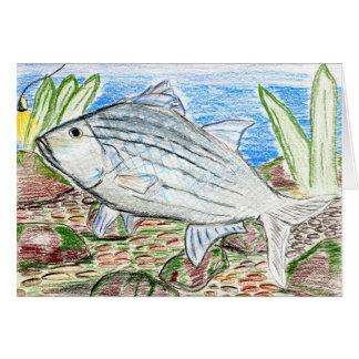 Winning artwork by J. Florida, Grade 6 Greeting Card