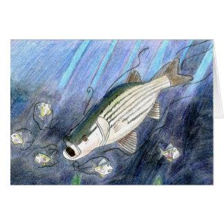 Winning artwork by K. Dumont, Grade 6 Greeting Card