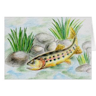 Winning artwork by K. Lu, Grade 6 Greeting Card