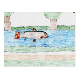 Winning artwork by K Rodriguez Grade 8 Post Cards
