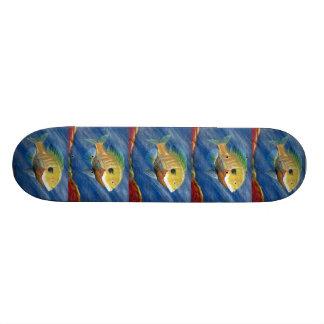 Winning artwork by K Walker Grade 12 Skateboard Decks