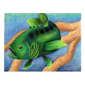 Winning artwork by L. Miller, Grade 11 Postcard