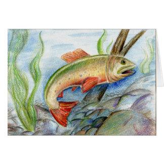 Winning artwork by M. Tcherneikina, Grade 8 Greeting Card