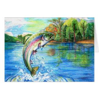 Winning artwork by M. Yuan, Grade 9 Greeting Card