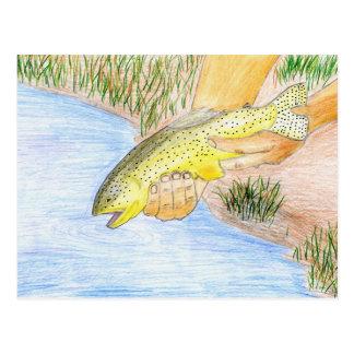 Winning artwork by O. Twiford, Grade 6 Postcard