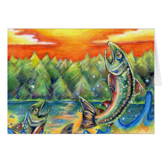 Winning artwork by R. Hasegawa, Grade 10 Greeting Card