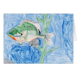 Winning artwork by S. Karch, Grade 4 Greeting Card