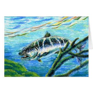 Winning artwork by S. Kim, Grade 5 Greeting Card