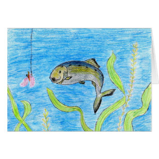 Winning artwork by S. Tomko, Grade 6 Greeting Card