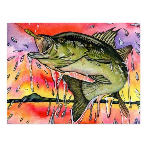 Winning artwork by S. Tu, Grade 9 Postcards