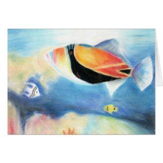 Winning artwork by S. Yang, Grade 12 Greeting Card