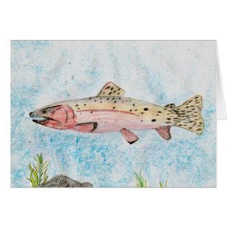 Winning artwork by T. Homan, Grade 5 Greeting Card