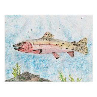 Winning artwork by T. Homan, Grade 5 Postcard
