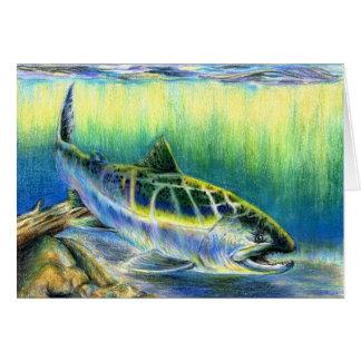 Winning artwork by T. Lee, Grade 9 Greeting Card