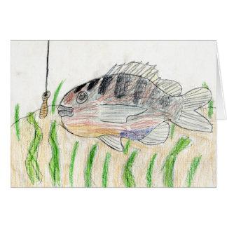 Winning artwork by T. Tellinghuisen, Grade 5 Greeting Card