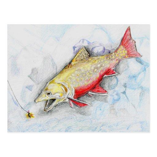 Winning artwork by Z. Xie, Grade 11 Post Cards
