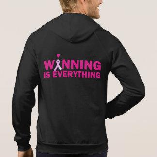 Winning Breast Cancer Awareness Hoodie