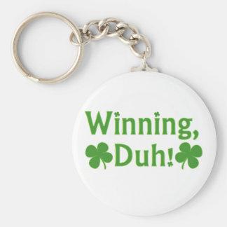 Winning Charlie Sheen Basic Round Button Key Ring