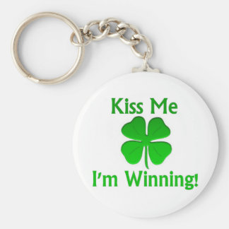 Winning Charlie Sheen St. Patrick's Day Keychains