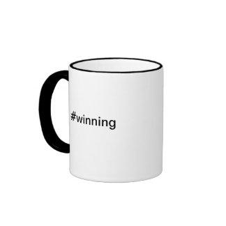 winning Charlie Sheen Twitter Hashtag mug