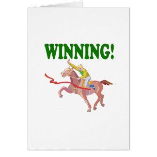Winning Greeting Card