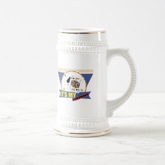 Winning Hand 21st Birthday Gifts Beer Stein