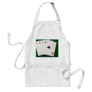 Winning Hand Four Aces Standard Apron
