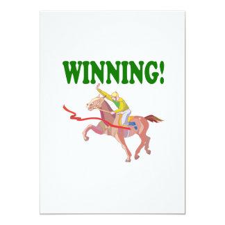 Winning 13 Cm X 18 Cm Invitation Card