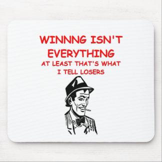 winning joke mouse pad