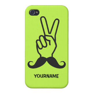 Winning Mustache custom cases iPhone 4/4S Covers