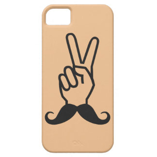 Winning Mustache custom color iPhone case