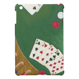 Winning Poker Hand Six Through Ten Cover For The iPad Mini