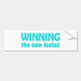 Winning the new losing bumper stickers