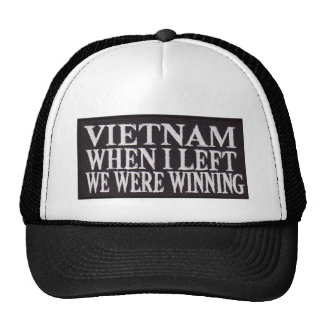 WINNING WHEN I LEFT CAP