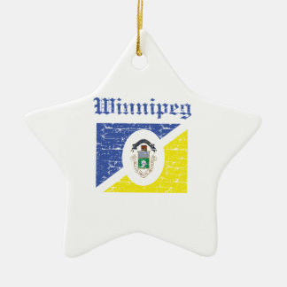 Winnipeg Canada designs Ceramic Star Decoration