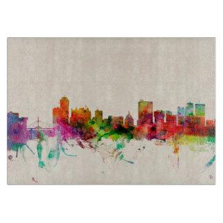 Winnipeg Canada Skyline Cityscape Cutting Board
