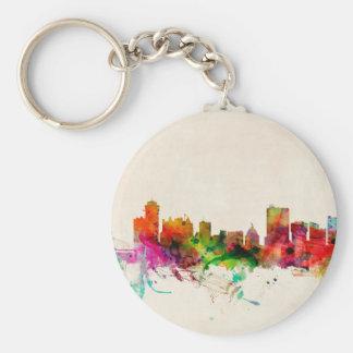 Winnipeg Canada Skyline Cityscape Keychains